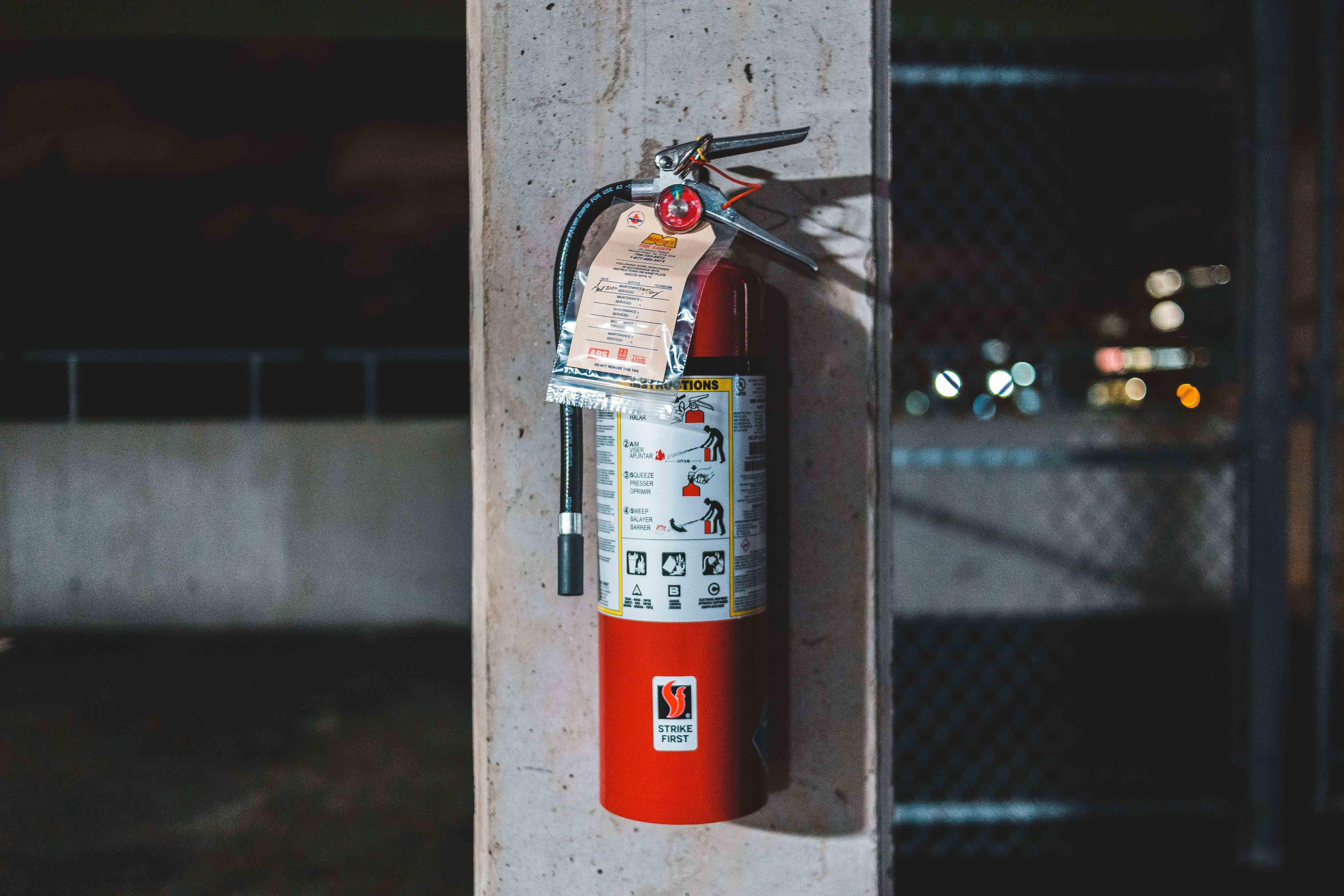 ¿Dónde recargar y dar mantenimiento a extintores?